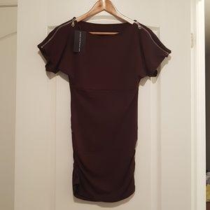 Dresses & Skirts - 2/$20 NWT Woman Wine red colour dress 1 pcs